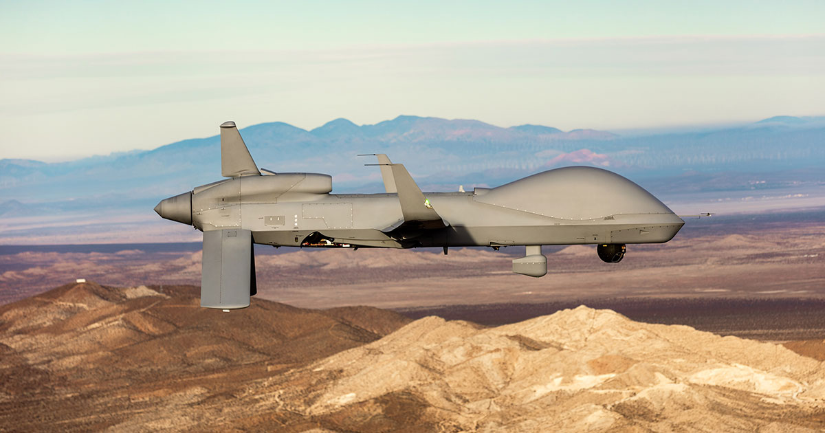 Army Uses GA-ASI SC2 to Control Gray Eagle Extended Range UAS