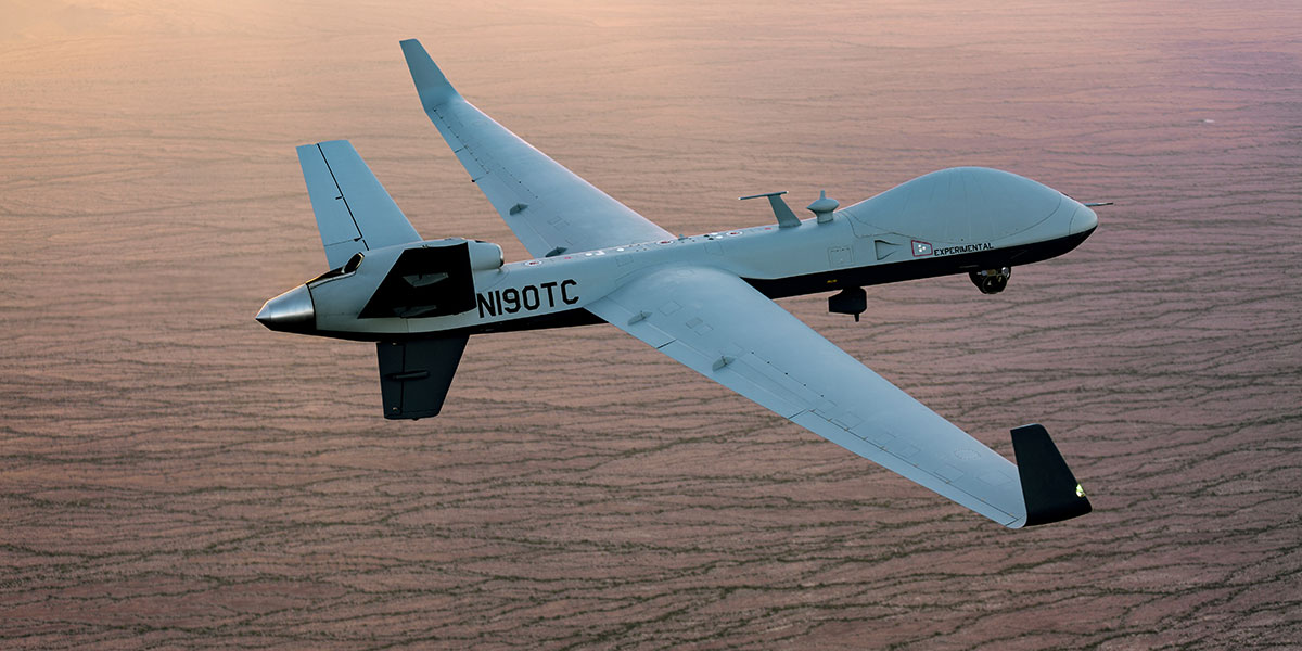 GA-ASI To Use Radomes from SABCA for MQ-9B