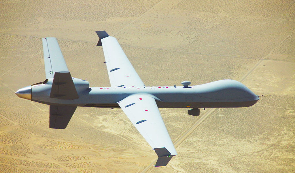 GA-ASI dimostra miglioramenti del decollo e dell'atterraggio automatici