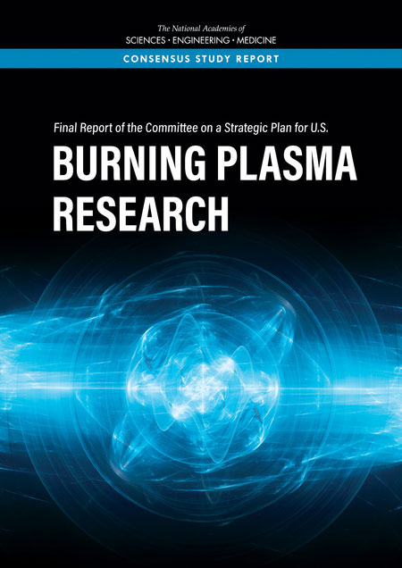 Burning Plasma Research Report